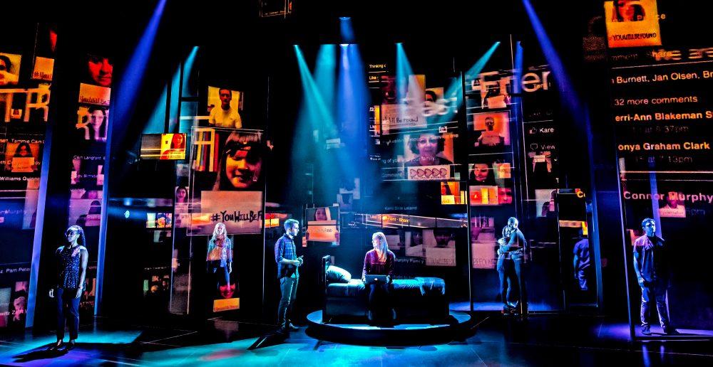 """The cast of the Broadway musical """"Dear Evan Hansen."""" (Courtesy Matthew Murphy)"""