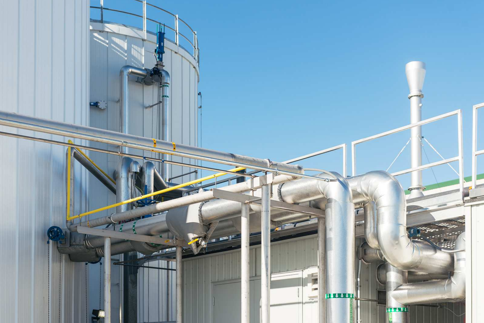 Stop & Shop's anaerobic digester outputs enough electricity to fulfill about 40 percent of the power needed for its 1 million-square-foot distribution center. (Courtesy Stop & Shop)