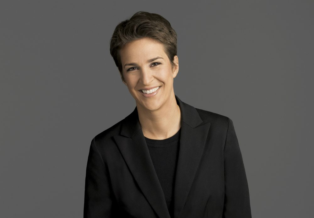 """Insinuating wrong-doing and going in search of the evidence to prove it wasn't a good or fair strategy against Hillary Clinton, writes Lisa Borders, and it's not one now. Pictured: Rachel Maddow, host of """"The Rachel Maddow Show,"""" on MSNBC. Maddow was at the center of the political media universe Tuesday, March 14, 2017, with a story on President Donald Trump's tax returns. (MSNBC via AP)"""