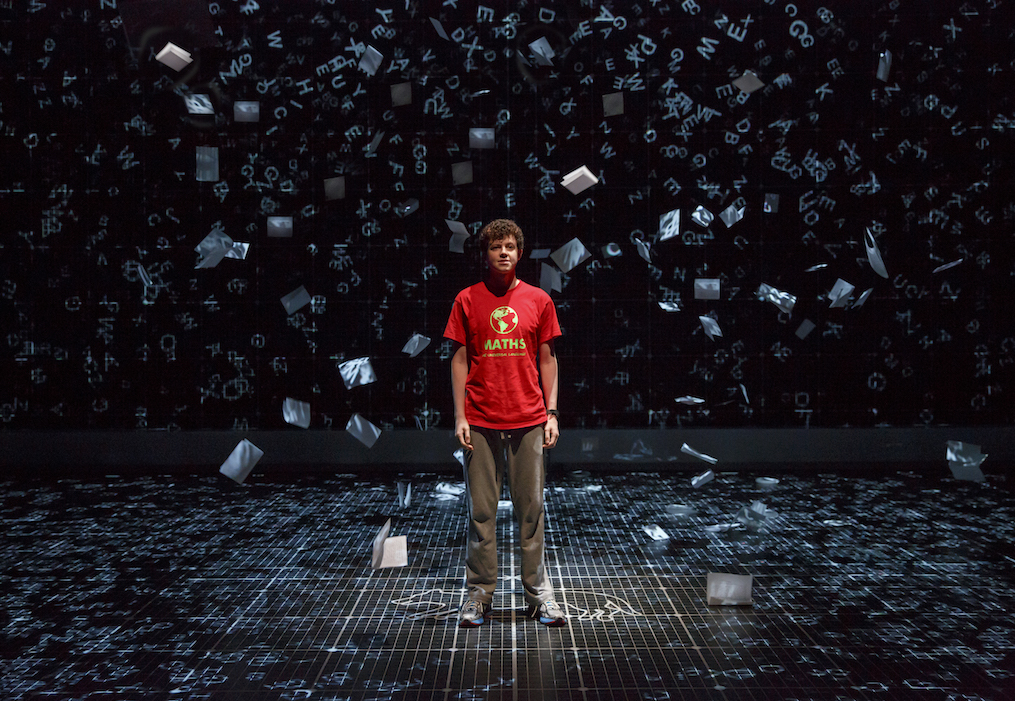 """Adam Langdon as Christopher Boone in """"The Curious Incident of the Dog in the Night-Time"""" (Courtesy Boston Opera House)"""