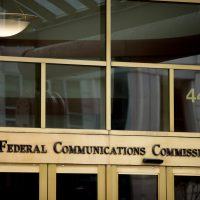 This June 19, 2015, file photo, shows the Federal Communications Commission building in Washington. (Andrew Harnik/AP)