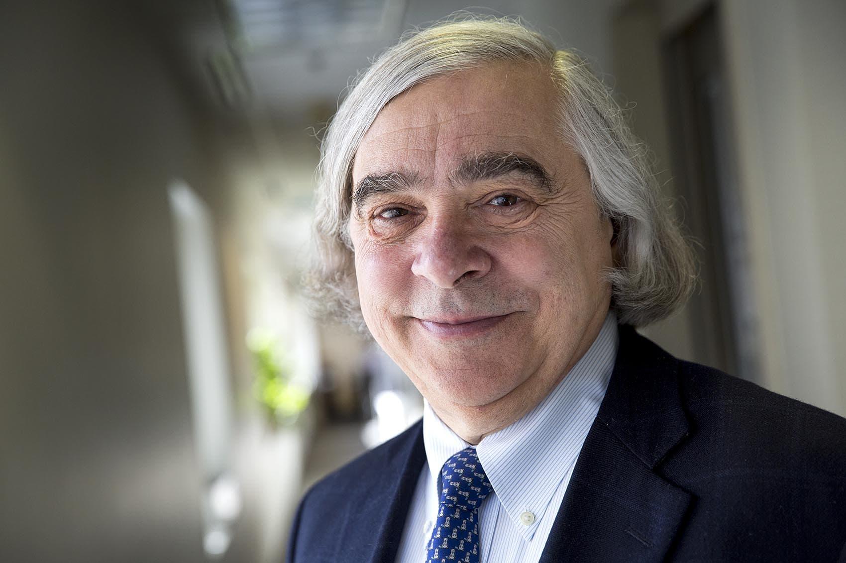 Ernest Moniz, former secretary of energy (Robin Lubbock/WBUR)