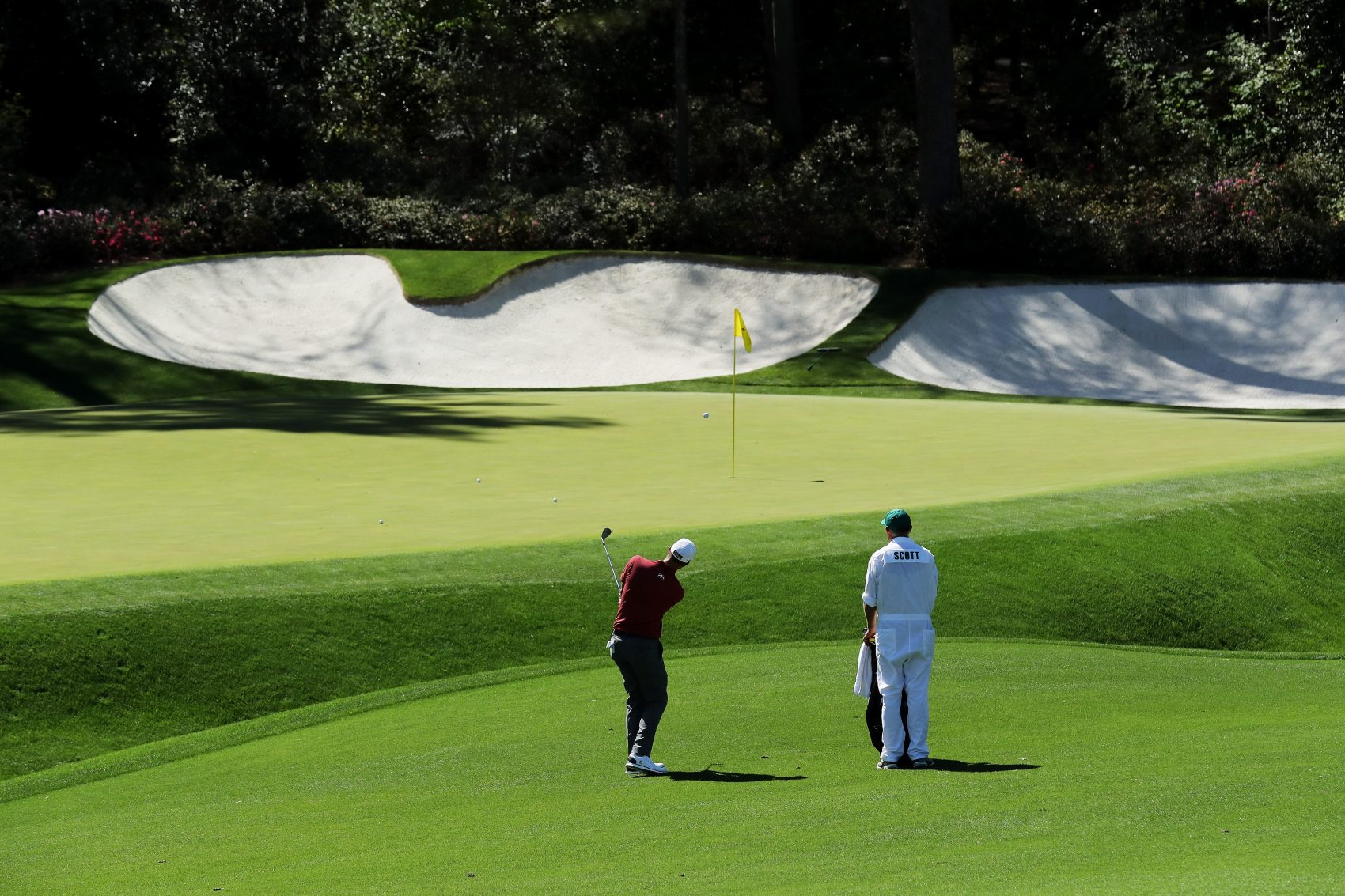 Meet The Masters Caddies   Only A Game
