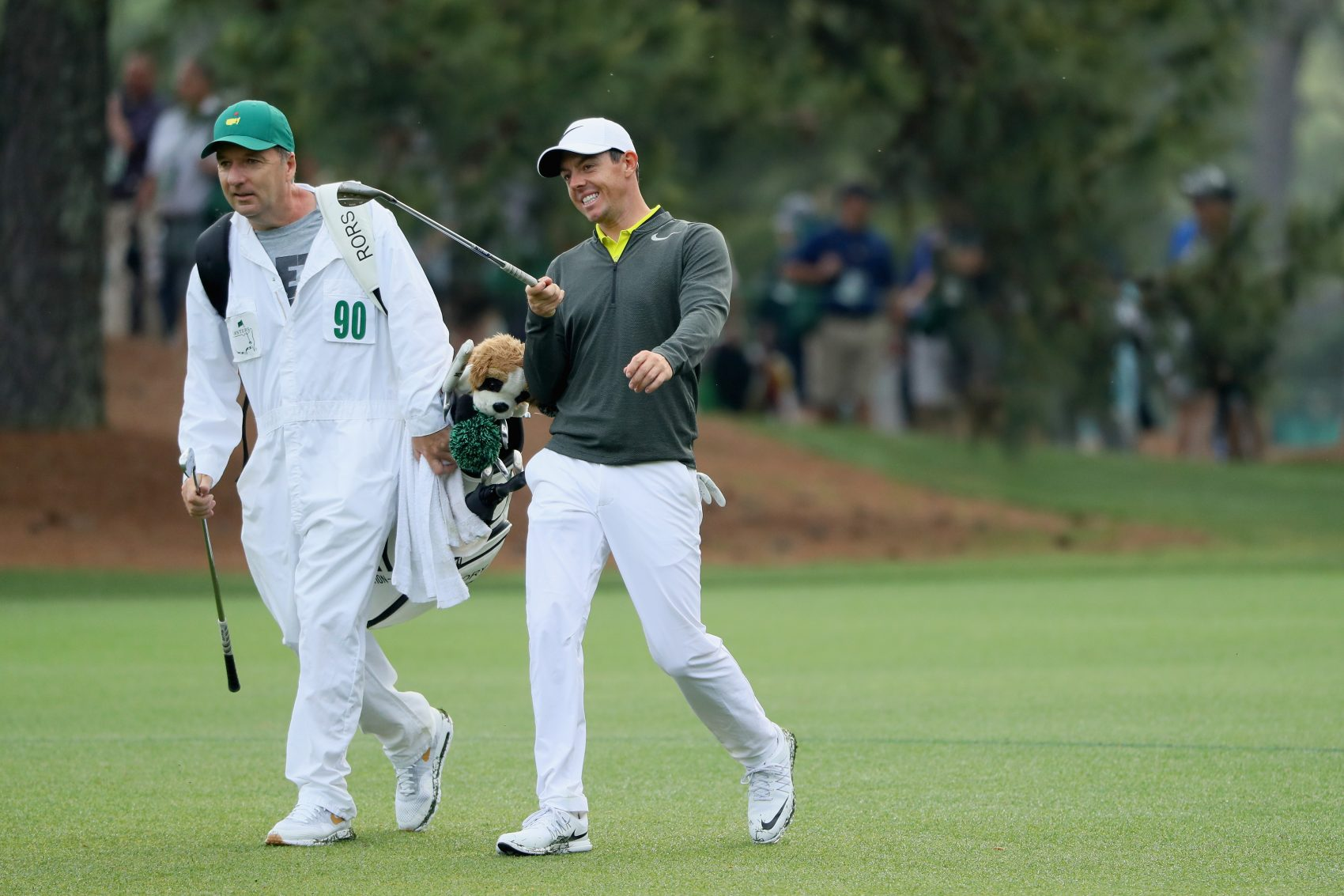 Meet The Masters Caddies | Only A Game