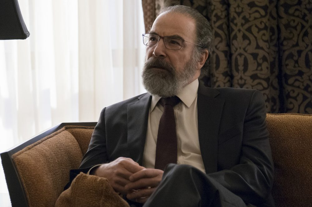 "Mandy Patinkin as Saul Berenson in ""Homeland."" (Courtesy Jeff Neumann/Showtime)"