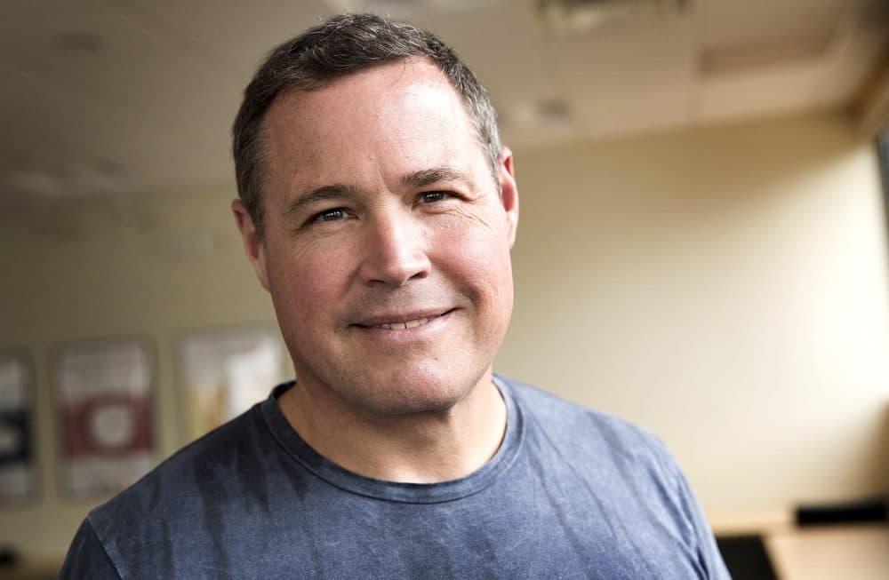 Jeff Corwin at WBUR.  (Robin Lubbock/WBUR)