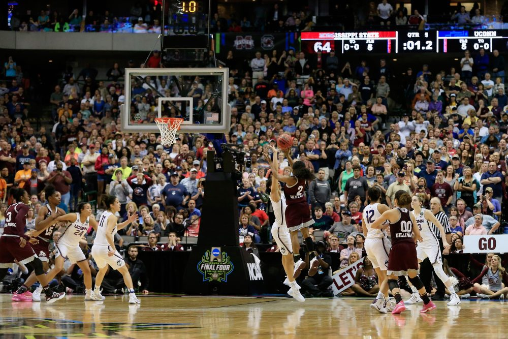 The UConn women's basketball team lost in the Final Four. (Ron Jenkins/Getty Images)