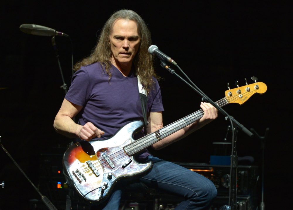 "Timothy B. Schmit of The Eagles performs on the ""History of the Eagles"" tour in 2014 in Los Angeles. (John Shearer/Invision/AP)"