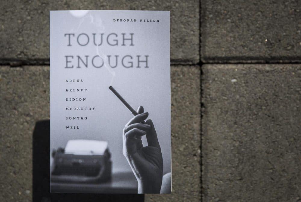 """""""Tough Enough"""" by Deborah Nelson. (Robin Lubbock/WBUR)"""