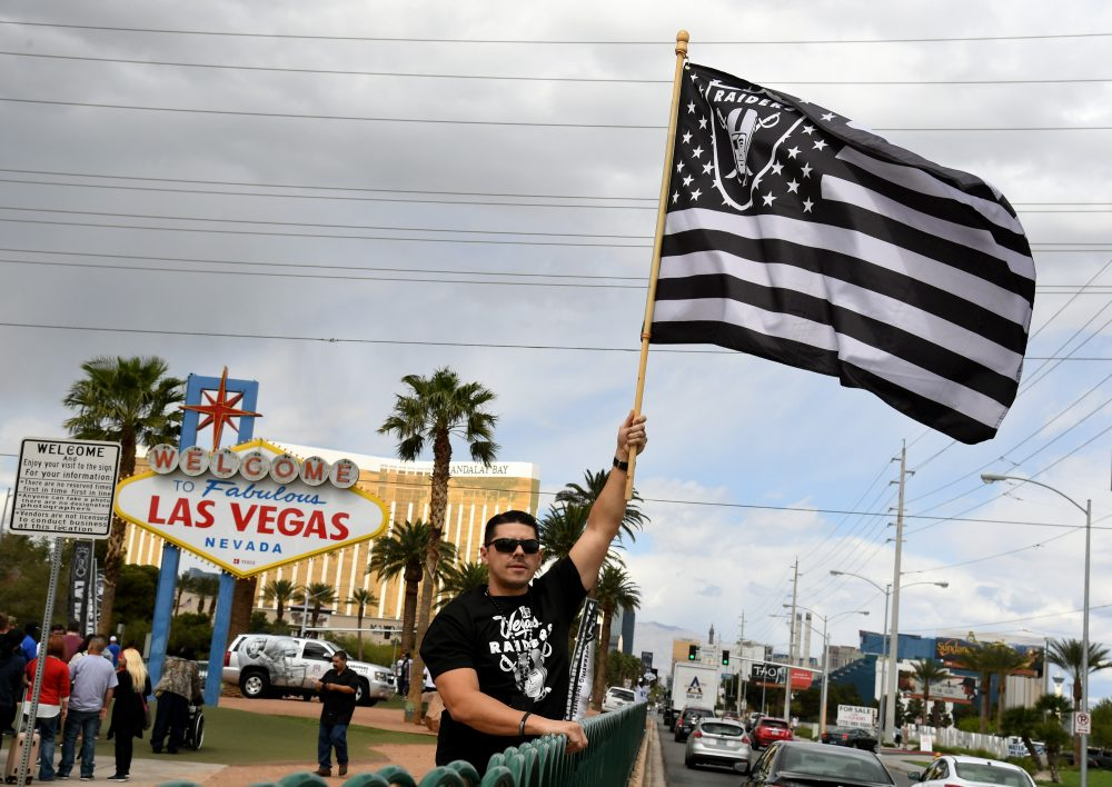 The Oakland Raiders will soon relocate to Las Vegas. (Ethan Miller/Getty Images)