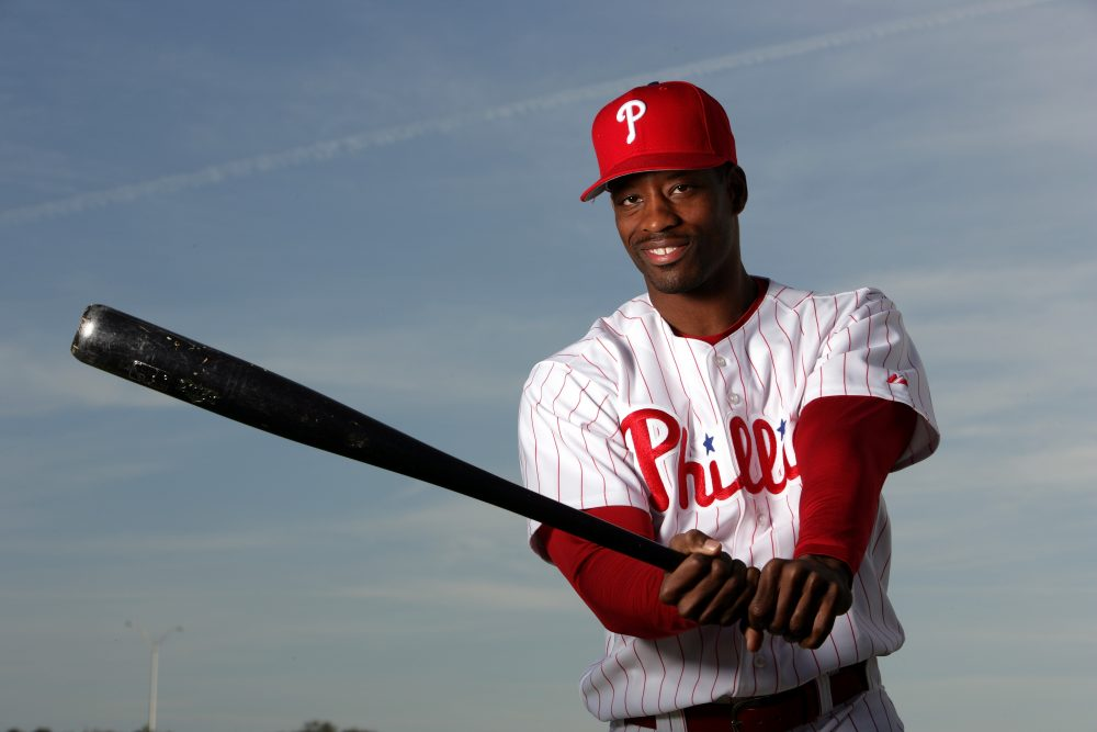 Toward the end of his eight-year MLB career, Lou Collier started noticing something: there were fewer and fewer African-American players. (Al Bello/Getty Images)