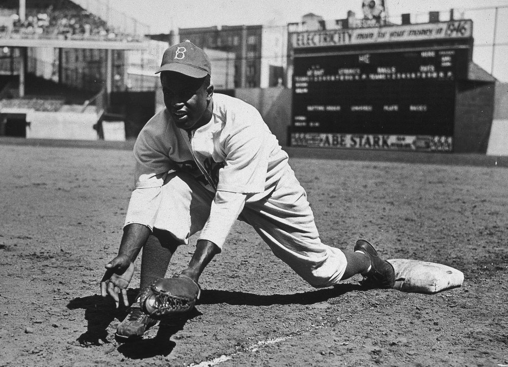 This week's episode of Only A Game celebrates the achievements and legacy of Jackie Robinson. (Hulton Archive/Getty Images)
