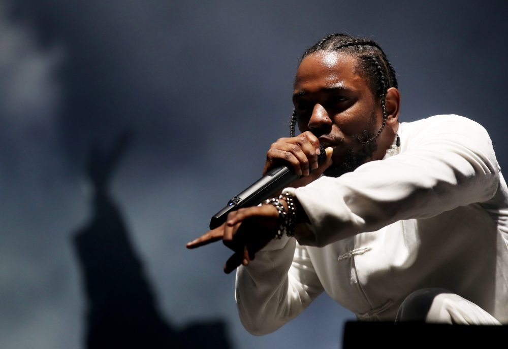 Rapper Kendrick Lamar performs during the Coachella Valley Music And Arts Festival on April 16, 2017 in Indio, Calif. (Christopher Polk/Getty Images for Coachella)