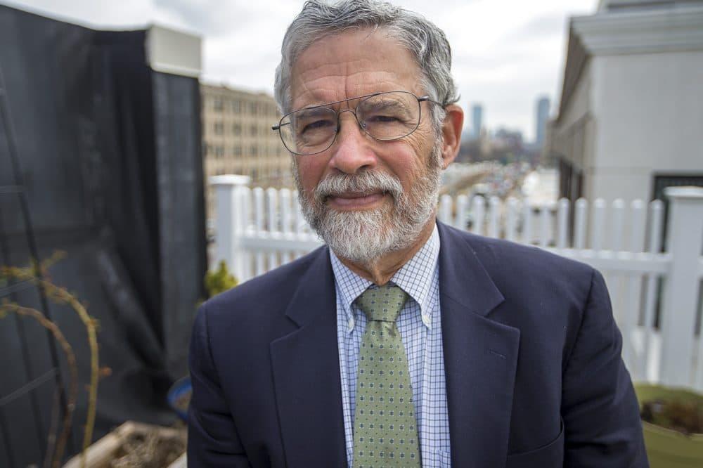 John Holdren, who spent eight years as President Obama's chief science adviser, is now a professor at Harvard University. (Jesse Costa/WBUR)