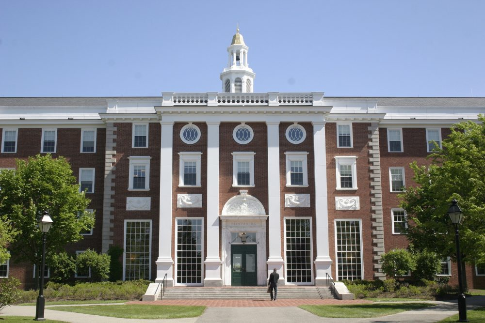 Image result for harvard business school building