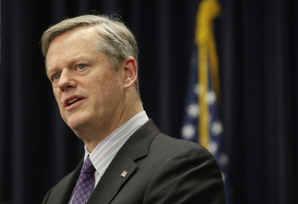 Massachusetts Republican Gov. Charlie Baker (Steven Senne/AP file photo)