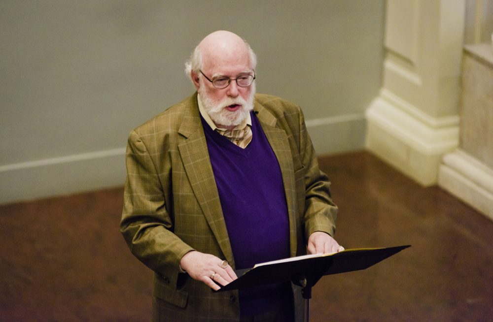 Laurence Senelick, Fletcher Professor of Drama and Oratory at Tufts University. (Courtesy Liza Voll Photography)