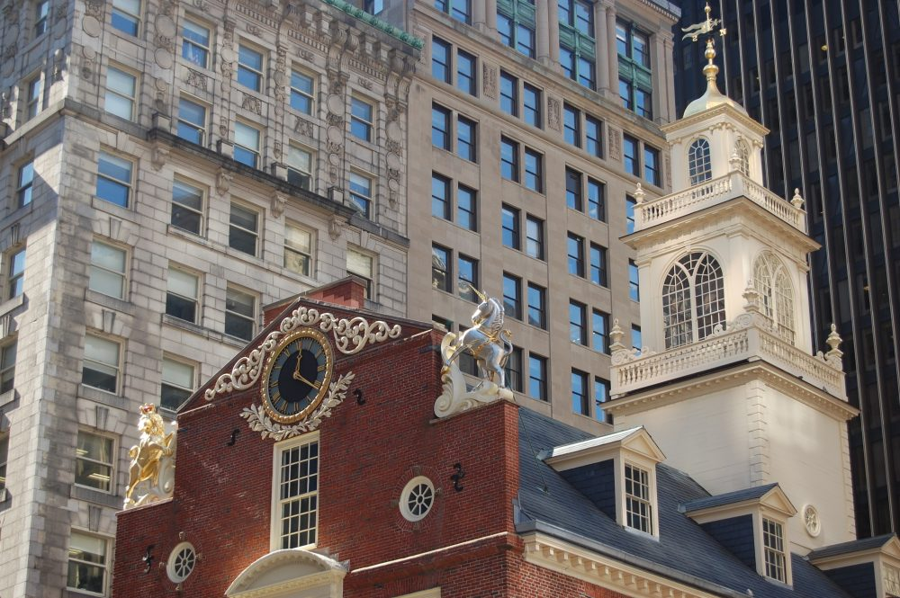 The Republican-proposed Financial CHOICE Act would kill the shareholder proposal process and further concentrate power in the hands of a few Wall Street players, writes Pat Miguel Tomaino. Pictured: The Old State House in Boston (Greg Cook/WBUR)