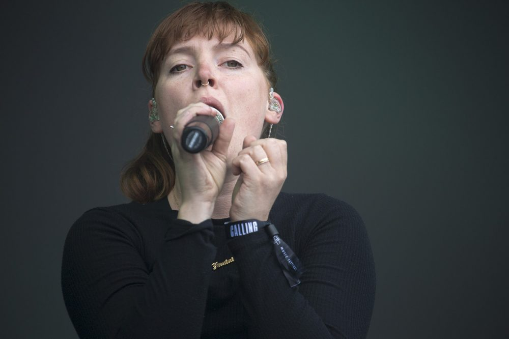 Amelia Meath, of Sylvan Esso. (Jesse Costa/WBUR)