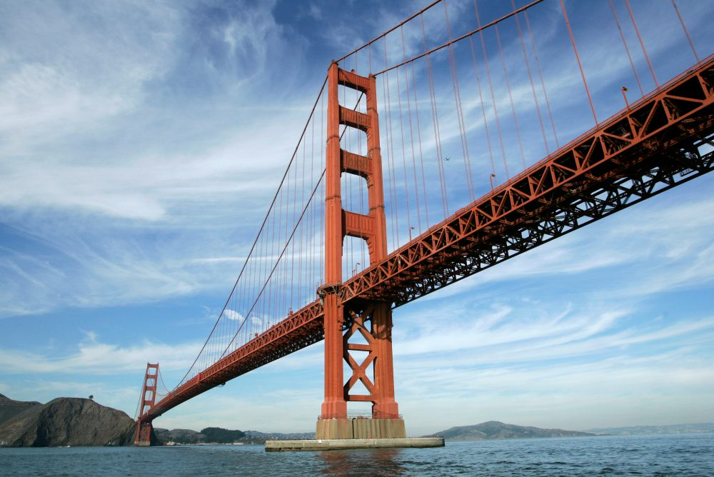 The Golden Gate Bridge in San Francisco. (Eric Risberg/AP)