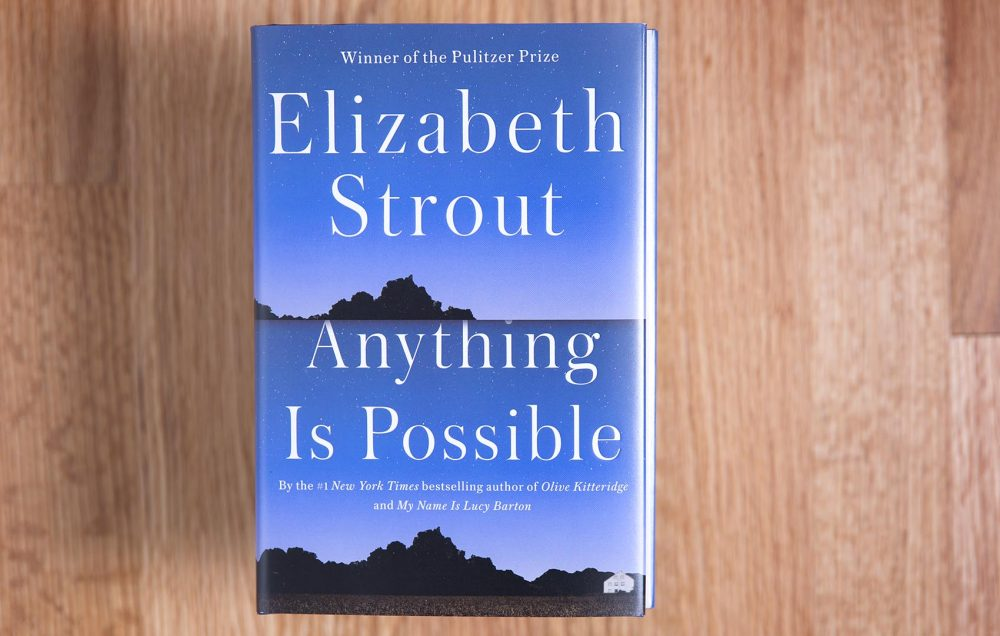 "Elizabeth Strout's ""Anything Is Possible."" (Robin Lubbock/WBUR)"