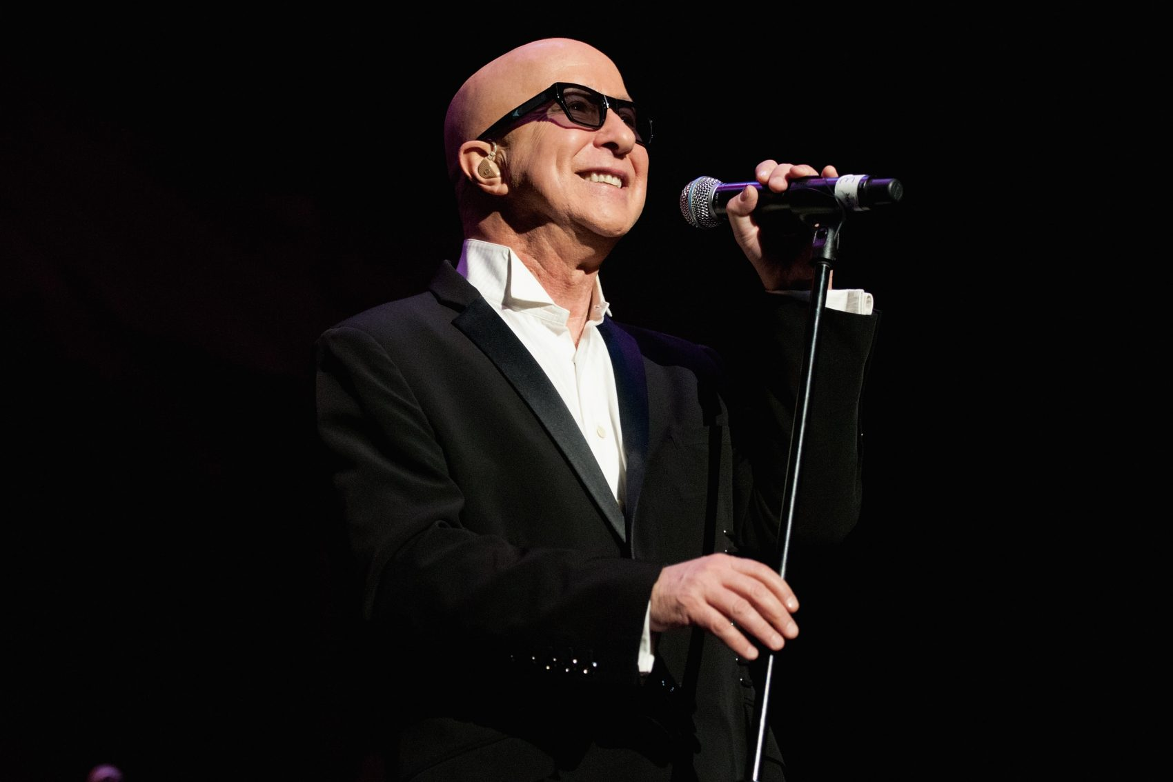 Paul Shaffer onstage in 2012. (Daniel Boczarski/Getty Images)