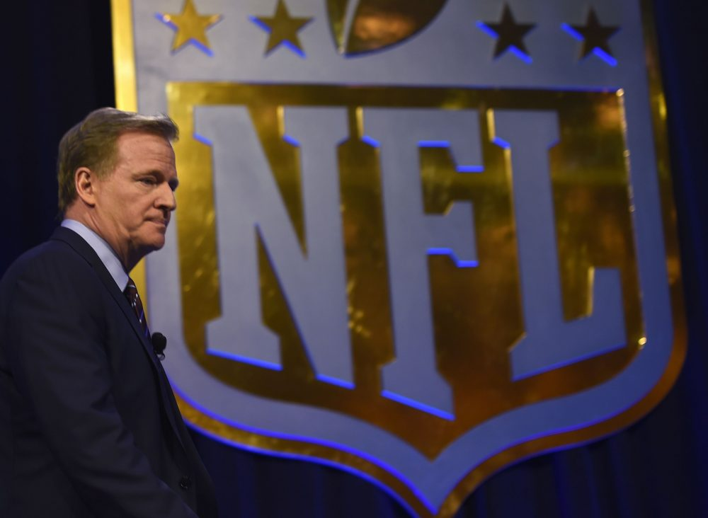Marijuana remains on the NFL's list of banned substances. (Timothy A. Clary/Getty Images)