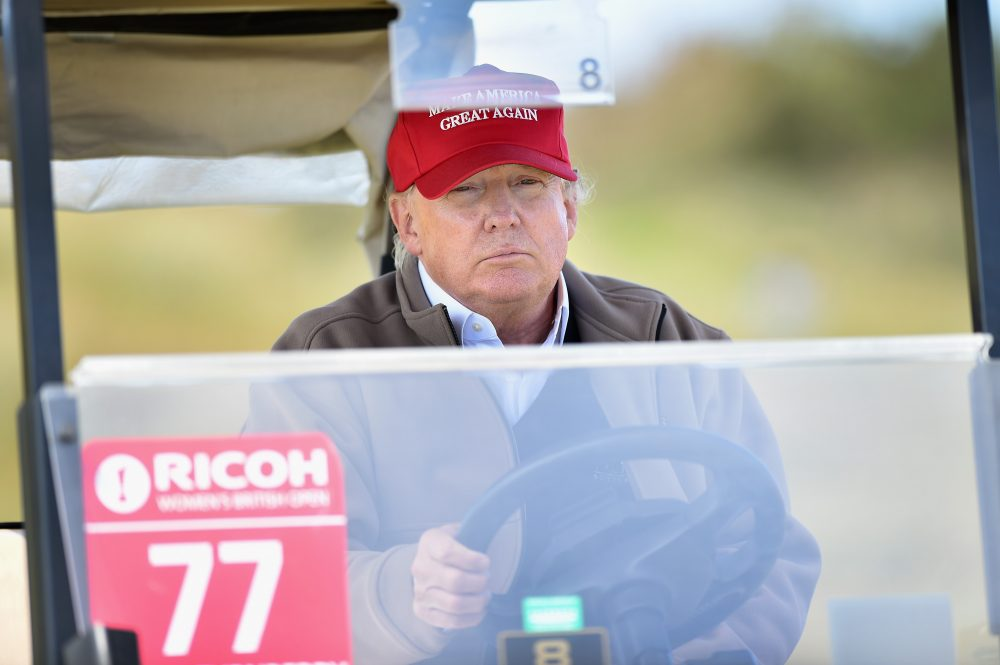 This week on Only A Game: a story from a man who almost played golf with Donald Trump. (Jeff J Mitchell/Getty Images)