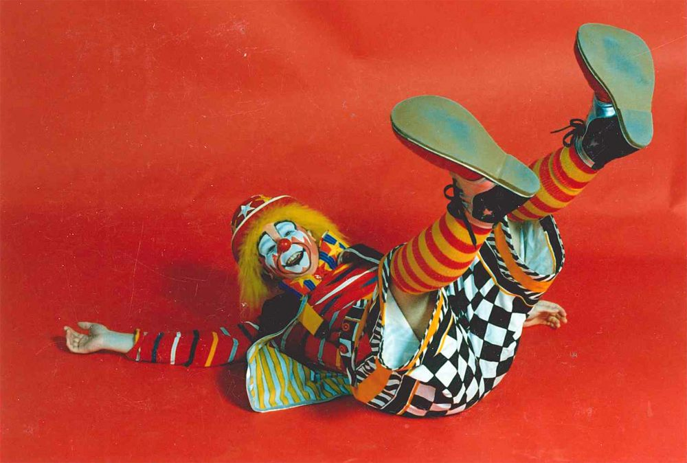 Peter Bufano is seen during his time in the Ringling Bros. Clown College in 1986. (Courtesy Peter Bufano)