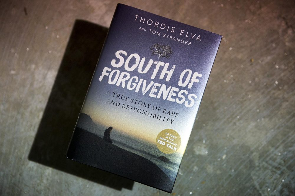 """South of Forgiveness,"" by Thordis Elva and Tom Stranger. (Robin Lubbock/WBUR)"