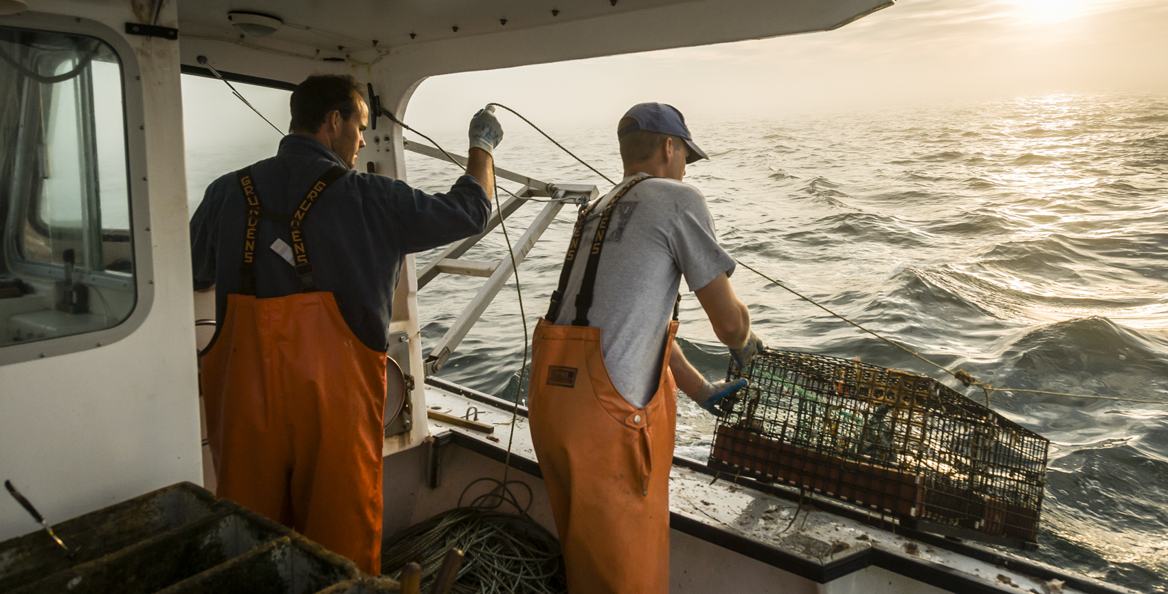 The not-for-profit health advocacy group The Fishing Partnership says it hopes, eventually, to make the drug naloxone a staple in every ship's medical kit. (Courtesy David Hill via The Fishing Partnership)