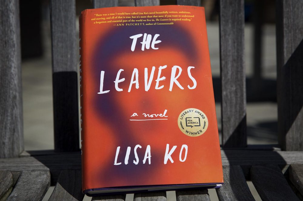 """The Leavers,"" by Lisa Ko. (Robin Lubbock/WBUR)"