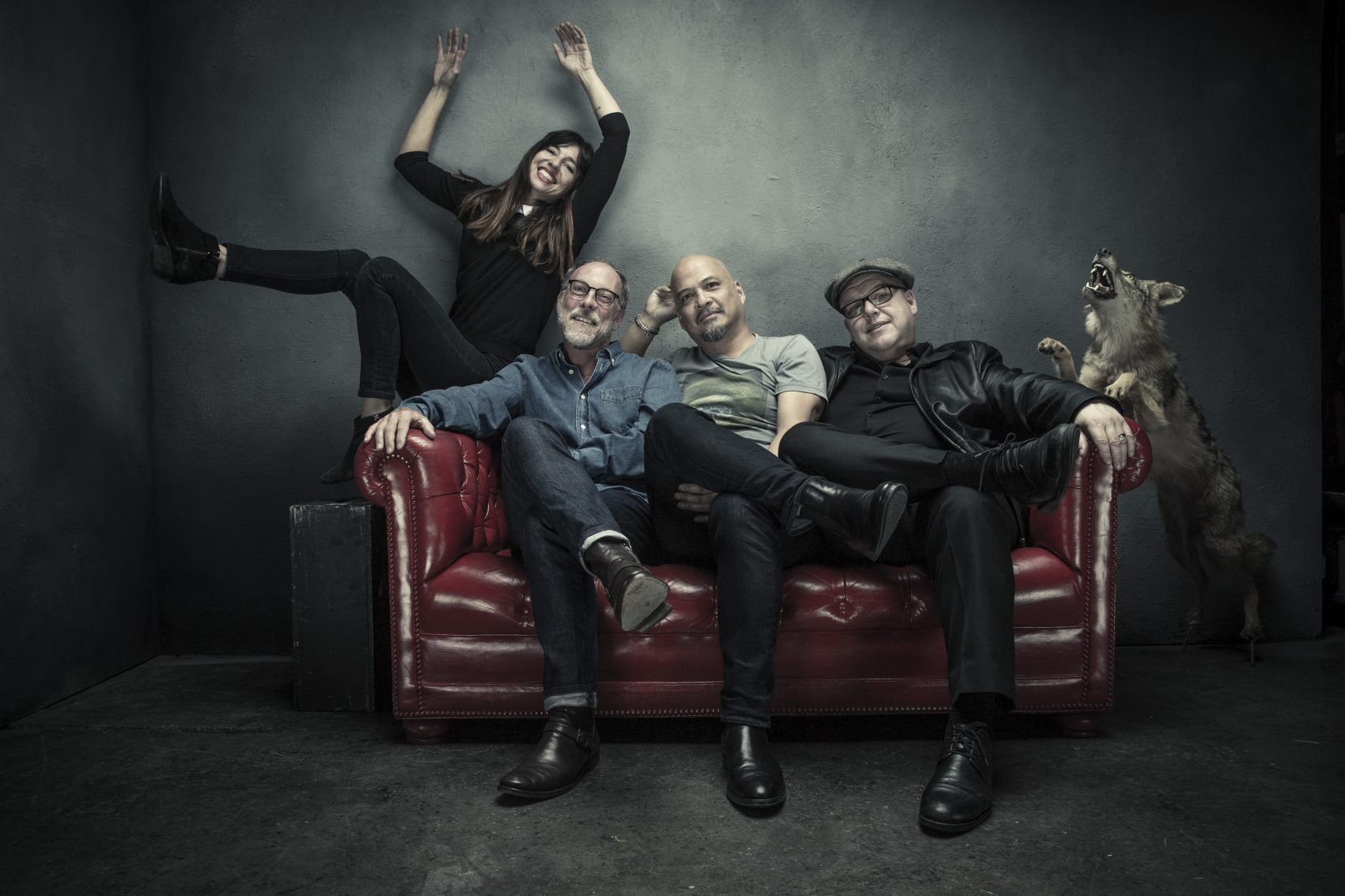 Pixies members Paz Lenchantin, David Lovering, Joey Santiago and Black Francis. (Courtesy Travis Shinn)