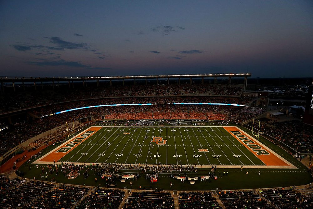 A seventh Title IX lawsuit has been filed against Baylor University. (Ronald Martinez/Getty Images)