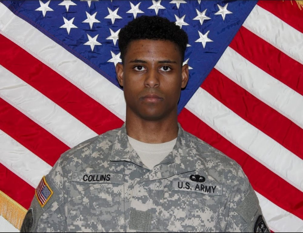 This undated photo provided by the U.S. Army shows Richard Collins III. Authorities appealed for patience Monday, May 22, 2017, from two college communities reacting in shock, fear and anger after Sean Urbanski, a white University of Maryland student, was arrested in what police called the unprovoked stabbing of a black Bowie State University student. Police and the FBI are investigating the killing of Collins as a possible hate crime, because the suspect, Urbanski, became a member of a racist Facebook group several months ago. (U.S. Army via AP)