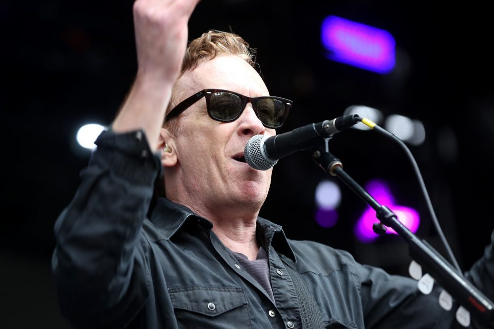 Bill Janovitz, of Buffalo Tom, performs at Boston Calling on Sunday. (Hadley Green for WBUR)