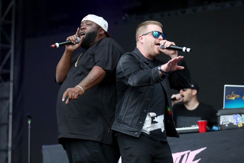 Killer Mike and El-P, of Run The Jewels. (Hadley Green for WBUR)