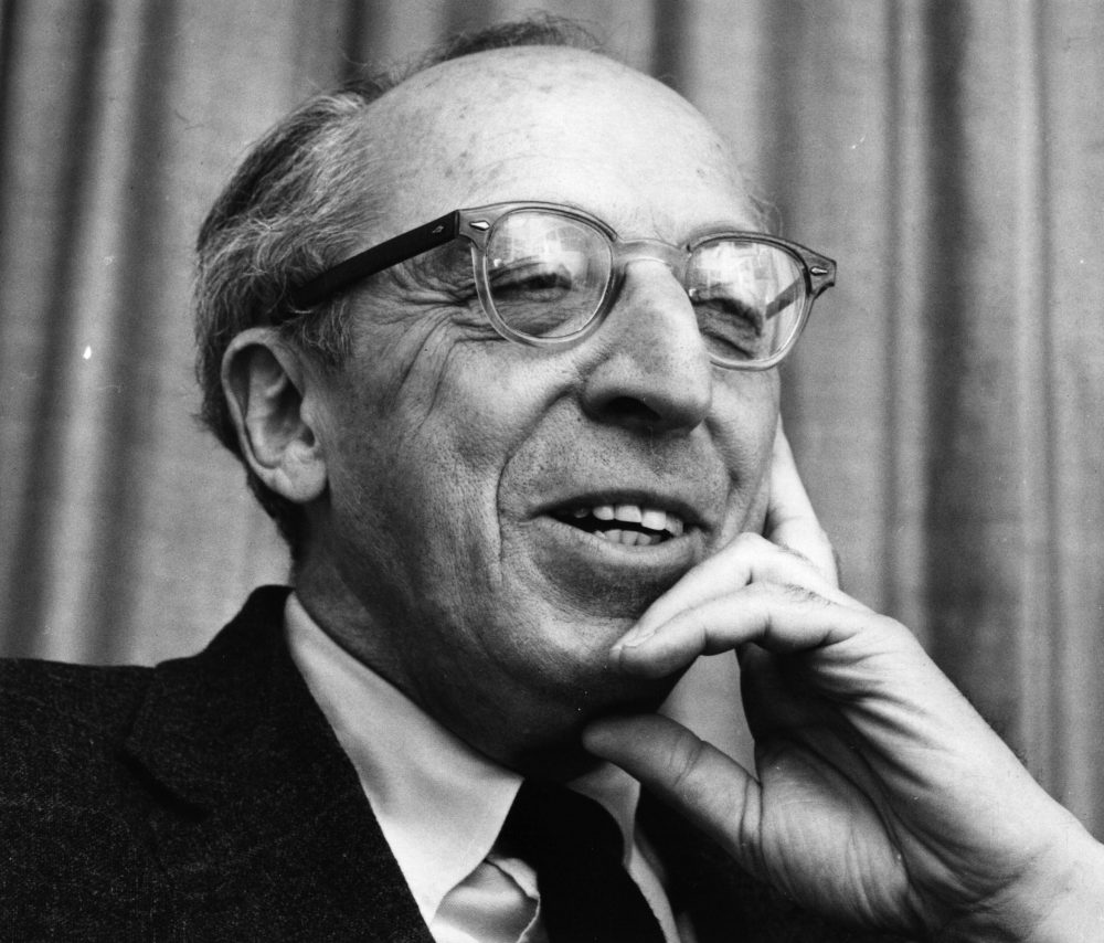 American composer Aaron Copland. (Cleland Rimmer/Getty Images)