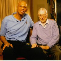 """We struck it off right away in terms of vision and appreciation of each other's goals,"" Kareem Abdul-Jabbar says of Coach Wooden. (Deborah Morales)"