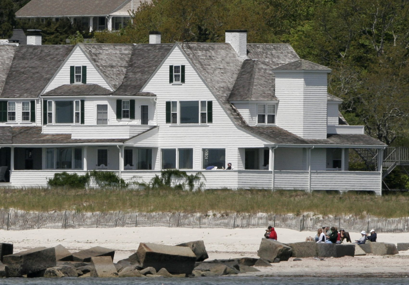 From The Kennedy Compound To The National Seas, JFK's ... Kennedy Compound House Plans on cape cod houses, hyannis houses, united states houses,