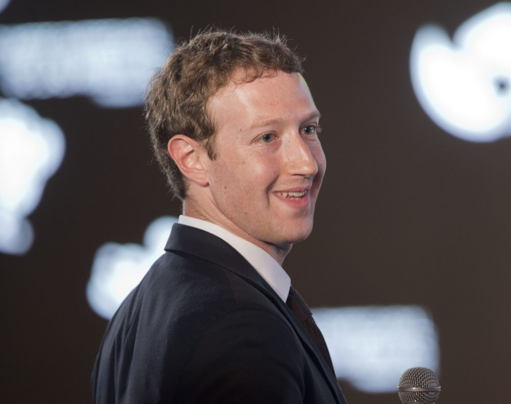 Facebook creator and CEO Mark Zuckerberg, pictured here in 2015, will be the commencement speaker at Harvard University's May 25, 2017 graduation ceremony. Howard Axelrod explains why this is a poor choice. (Pablo Martinez Monsivais/ AP)