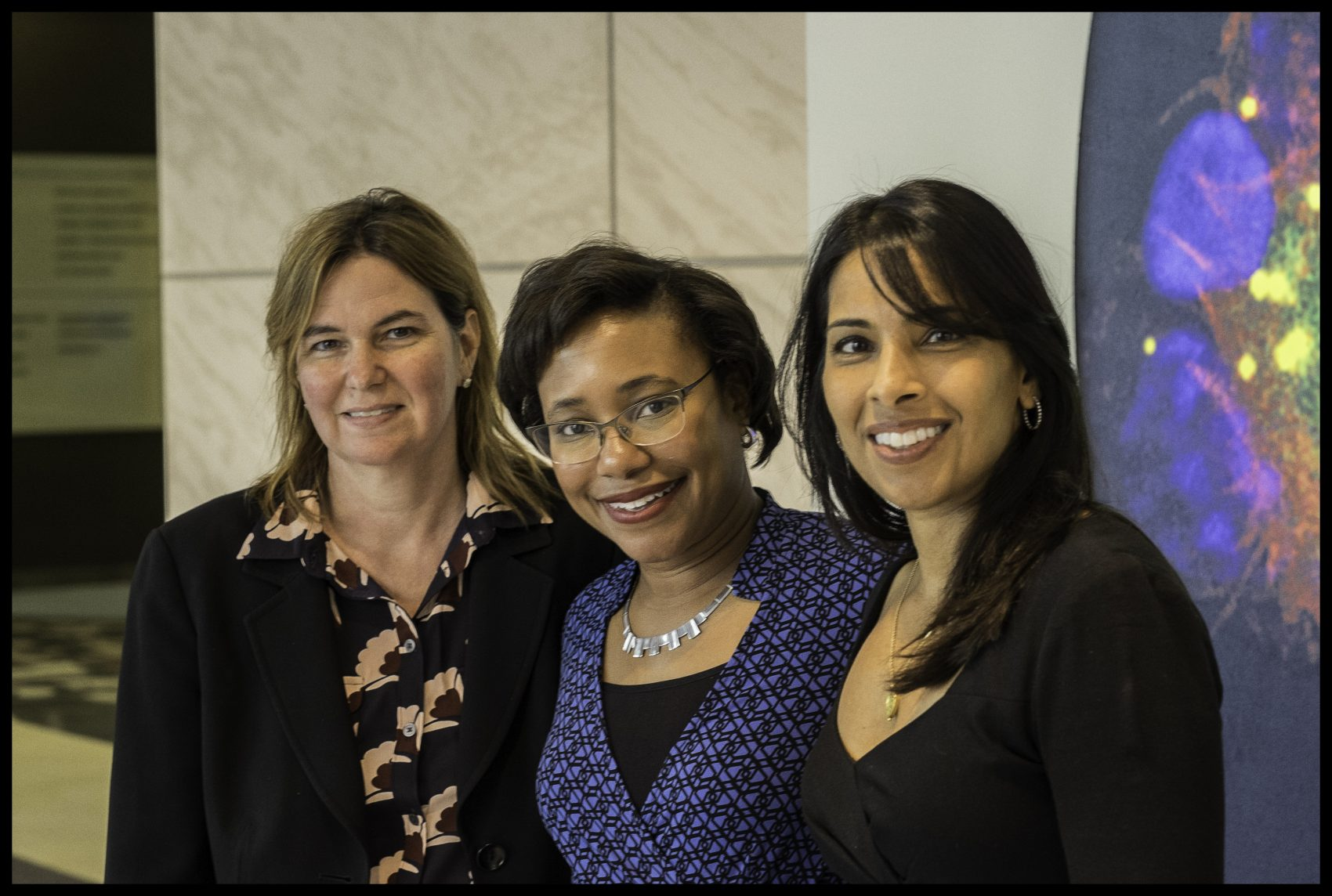 From left to right: Drs. Angela Belcher, Paula Hammond and Sangeeta Bhatia. (Courtesy)