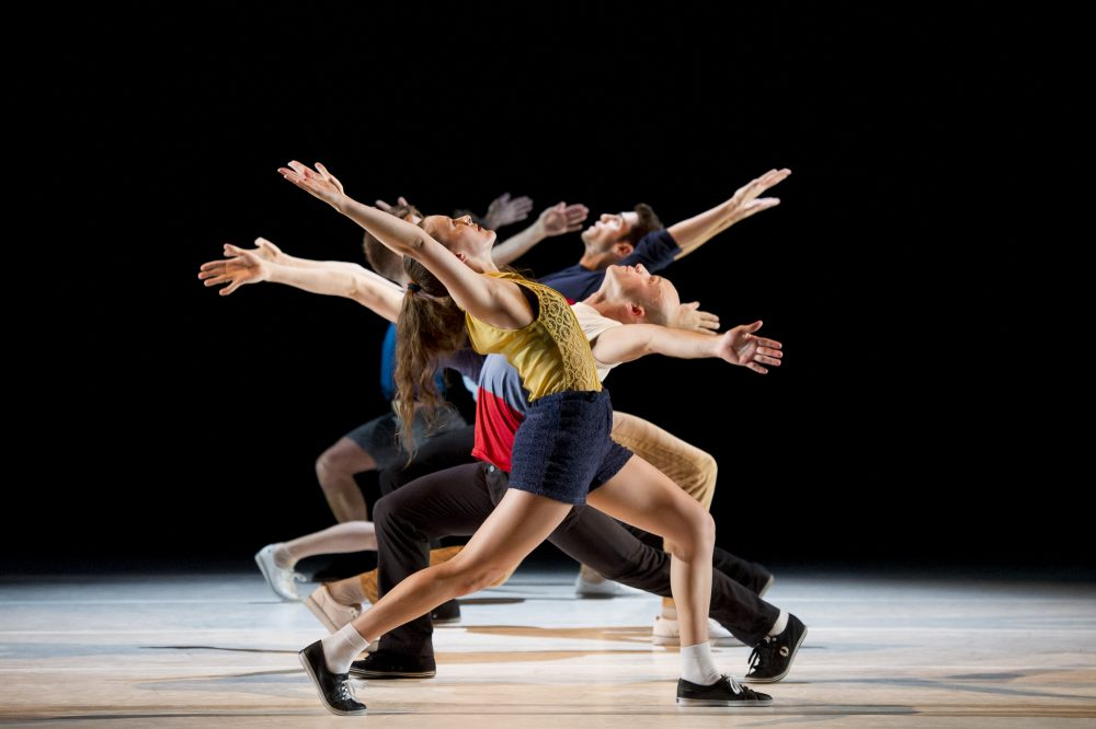 "The L.A. Dance Project performs ""Murder Ballades."" (Courtesy Laurent Philippe)"