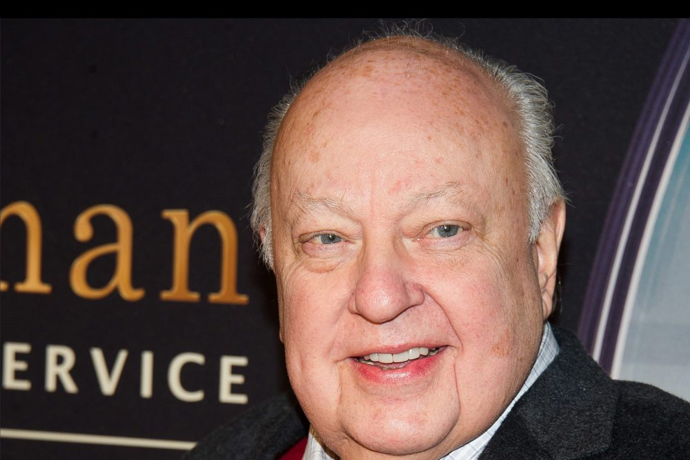 "Roger Ailes attends a special screening of ""Kingsman: The Secret Service"" in New York. He died on May 18, 2017. (Charles Sykes/AP)"