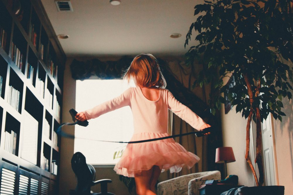 Taylor Swift is singing that she's feeling 22, I have an American Girl doll in my lap and my fingernails are painted a lovely shade of violet, writes Bill Eville. I have a daughter. (Caleb Woods/Unsplash)