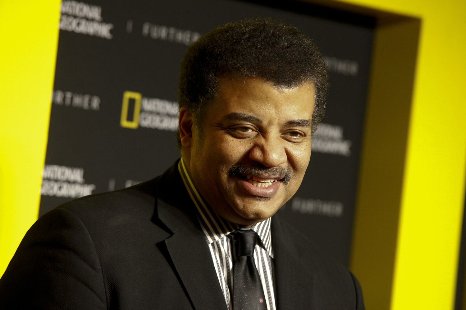 "Neil deGrasse Tyson attends the National Geographic 2017 ""Further Front"" network upfront at Jazz at Lincoln Center's Frederick P. Rose Hall on Wednesday, April 19, 2017, in New York. (Andy Kropa/AP)"