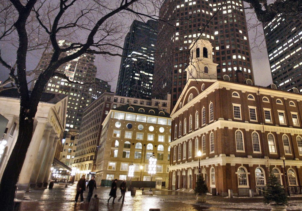 Faneuil Hall in Boston. (Michael Dwyer/AP)