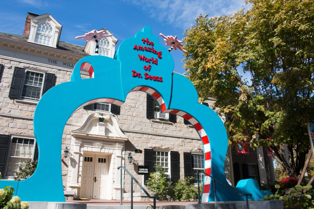 The entrance to Springfield's new Dr. Seuss museum. (Courtesy Springfield Museums)