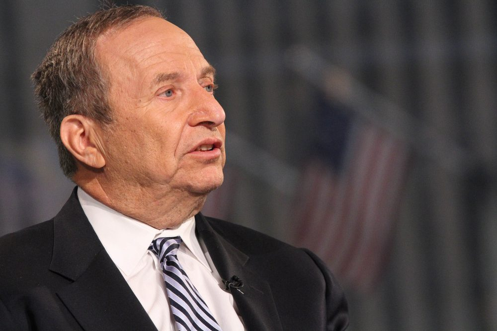 Former Treasury Secretary Larry Summers in 2015. (Rob Kim/Getty Images)