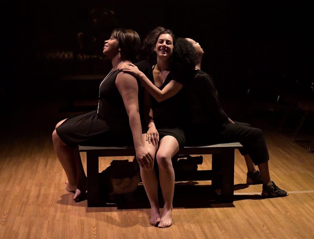 "Ramona Alexander, Dana Stern and Jackie Davis in ""Days of Atonement."" (Courtesy Paul Marotta/Israeli Stage)"